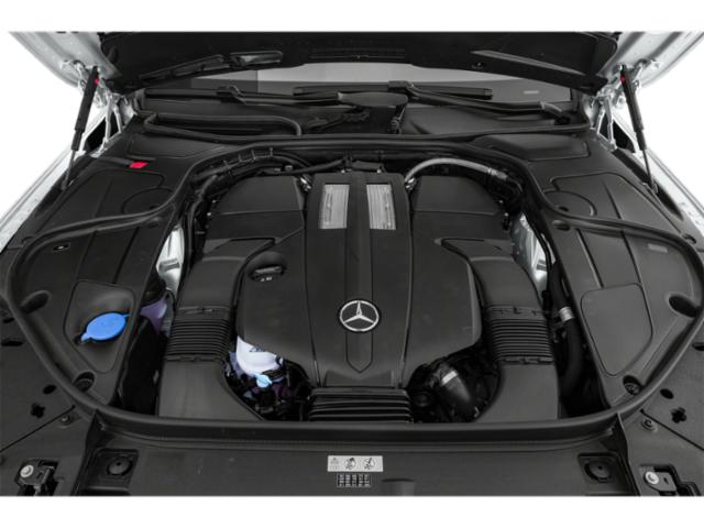 2018 Mercedes-Benz S-Class Pictures S-Class S 450 4MATIC Sedan photos engine