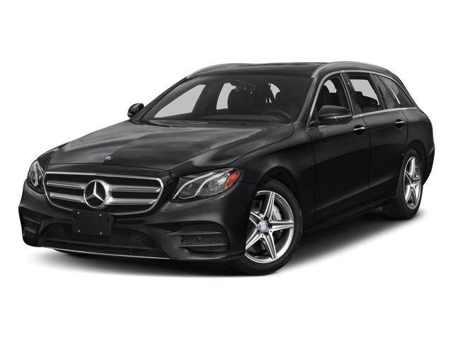 2018 Mercedes-Benz E-Class Base Price E 400 4MATIC Wagon Pricing side front view
