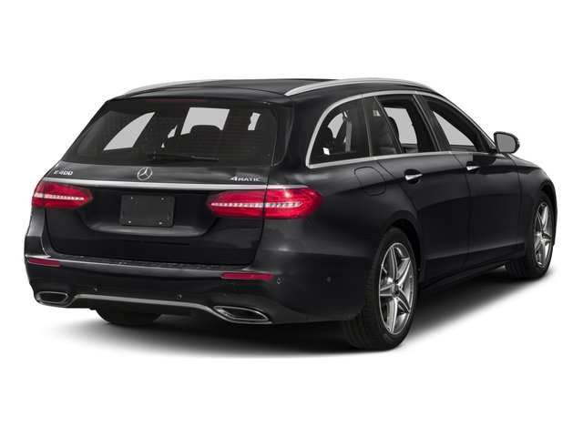 2018 Mercedes-Benz E-Class Prices and Values Wagon 4D E400 AWD V6 Turbo side rear view