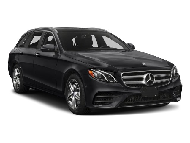 2018 Mercedes-Benz E-Class Prices and Values Wagon 4D E400 AWD V6 Turbo side front view