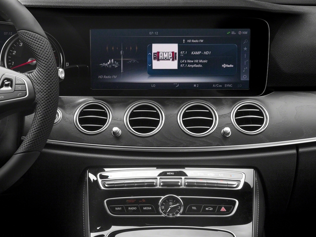2018 Mercedes-Benz E-Class Prices and Values Wagon 4D E400 AWD V6 Turbo stereo system