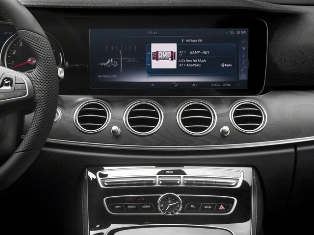 2018 Mercedes-Benz E-Class Base Price E 400 4MATIC Wagon Pricing stereo system