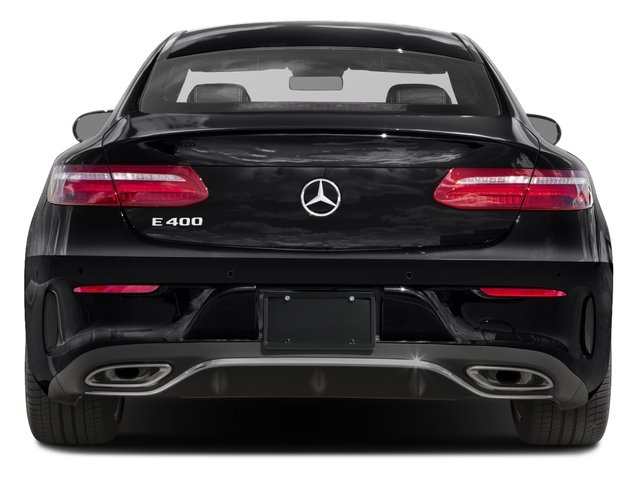 2018 Mercedes-Benz E-Class Base Price E 400 RWD Coupe Pricing rear view