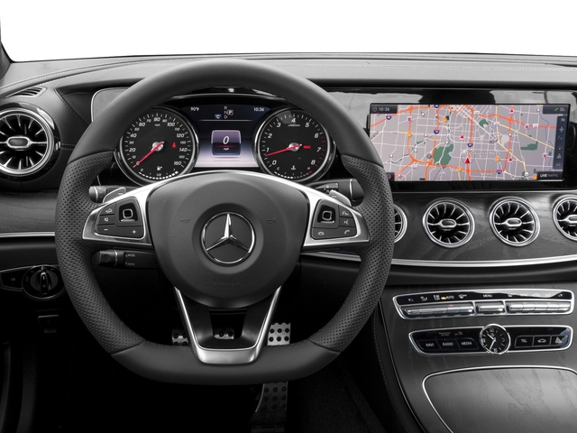 2018 Mercedes-Benz E-Class Base Price E 400 RWD Coupe Pricing driver's dashboard