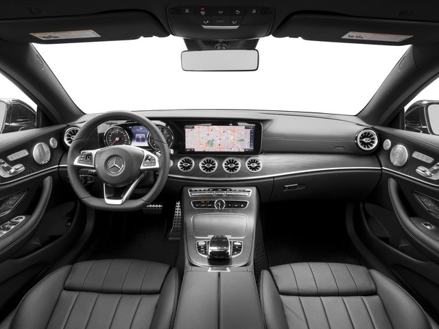 2018 Mercedes-Benz E-Class Pictures E-Class E 400 4MATIC Coupe photos full dashboard