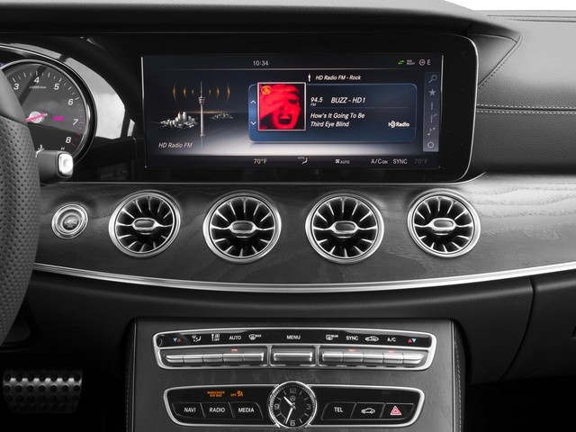 2018 Mercedes-Benz E-Class Base Price E 400 RWD Coupe Pricing stereo system