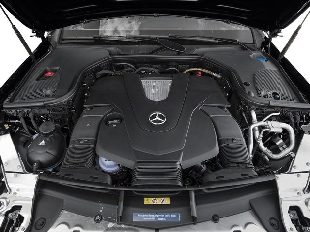 2018 Mercedes-Benz E-Class Pictures E-Class E 400 4MATIC Coupe photos engine