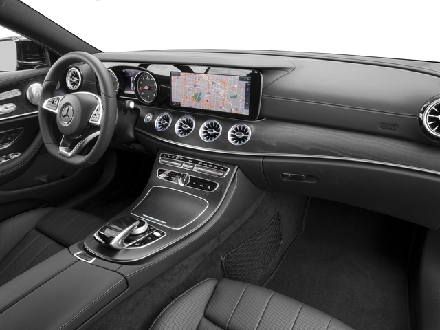 2018 Mercedes-Benz E-Class Base Price E 400 RWD Coupe Pricing passenger's dashboard