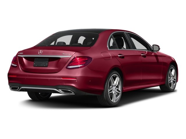 2018 Mercedes-Benz E-Class Prices and Values Sedan 4D E400 AWD V6 Turbo side rear view