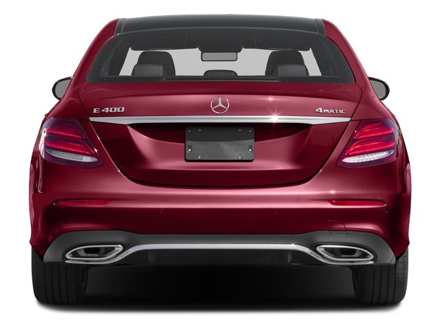 2018 Mercedes-Benz E-Class Prices and Values Sedan 4D E400 AWD V6 Turbo rear view