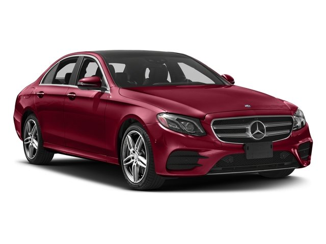 2018 Mercedes-Benz E-Class Prices and Values Sedan 4D E400 AWD V6 Turbo side front view