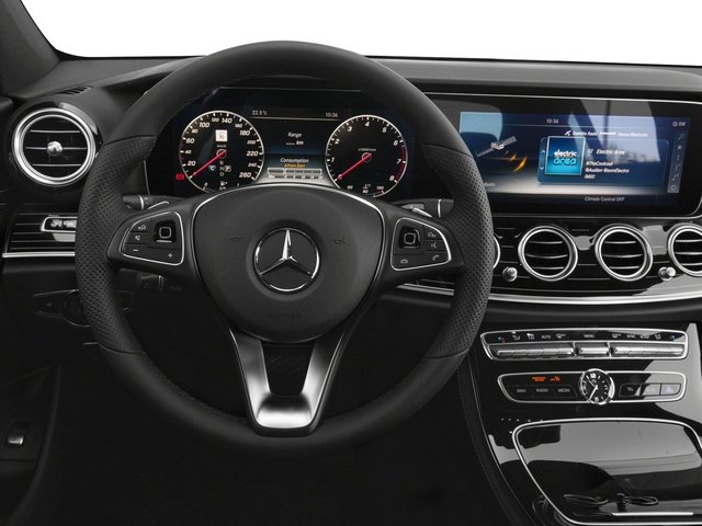 2018 Mercedes-Benz E-Class Prices and Values Sedan 4D E400 AWD V6 Turbo driver's dashboard