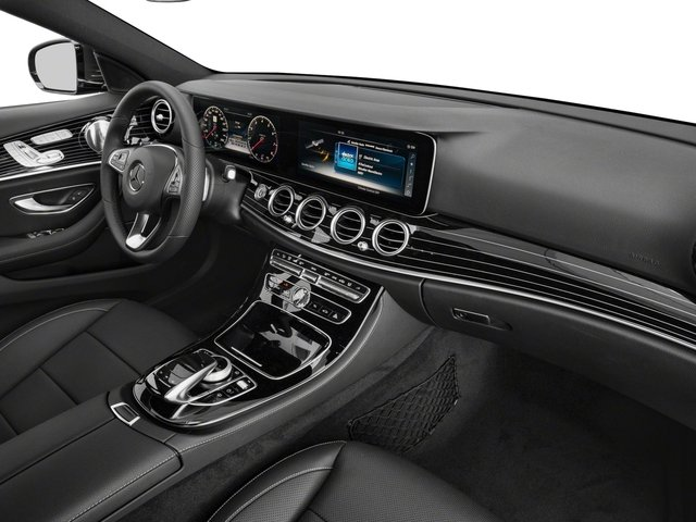 2018 Mercedes-Benz E-Class Prices and Values Sedan 4D E400 AWD V6 Turbo passenger's dashboard