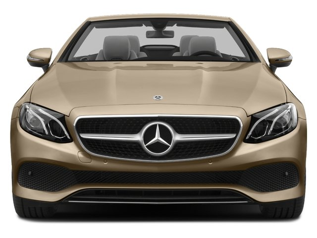 2018 Mercedes-Benz E-Class Base Price E 400 RWD Cabriolet Pricing front view