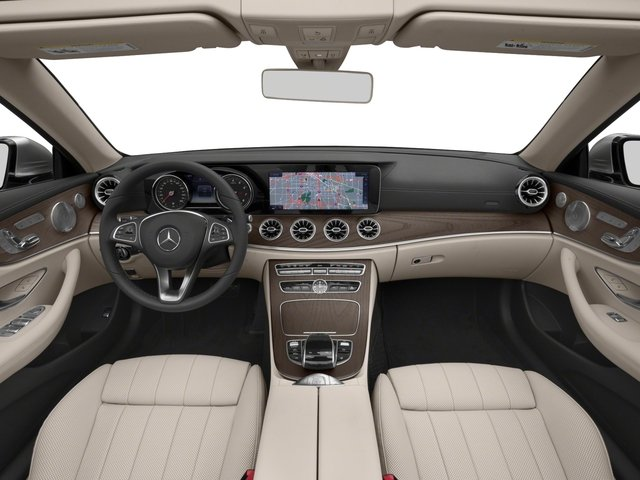 2018 Mercedes-Benz E-Class Base Price E 400 4MATIC Cabriolet Pricing full dashboard