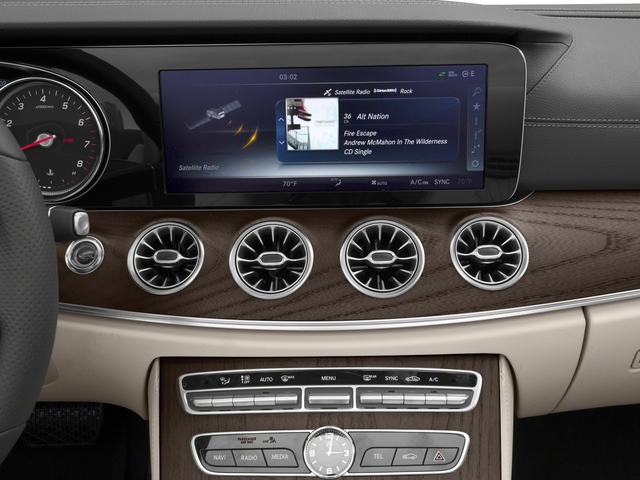 2018 Mercedes-Benz E-Class Base Price E 400 RWD Cabriolet Pricing stereo system