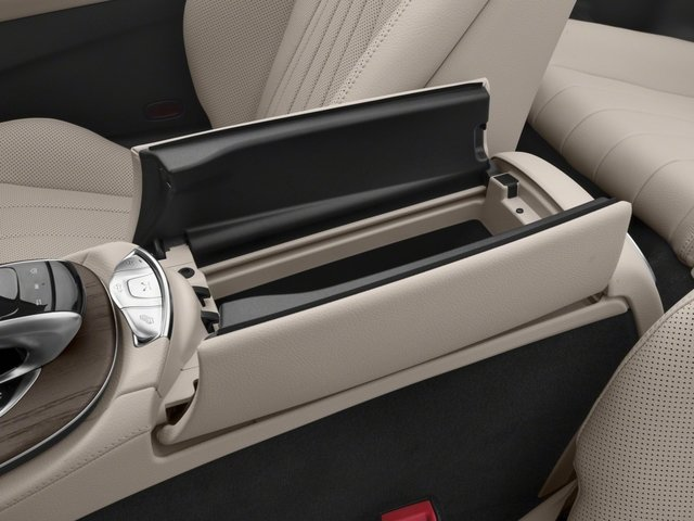 2018 Mercedes-Benz E-Class Pictures E-Class E 400 4MATIC Cabriolet photos center storage console