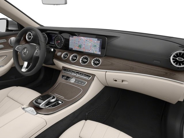 2018 Mercedes-Benz E-Class Base Price E 400 4MATIC Cabriolet Pricing passenger's dashboard