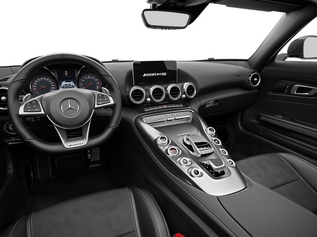 2018 Mercedes-Benz AMG GT Base Price AMG GT Roadster Pricing full dashboard