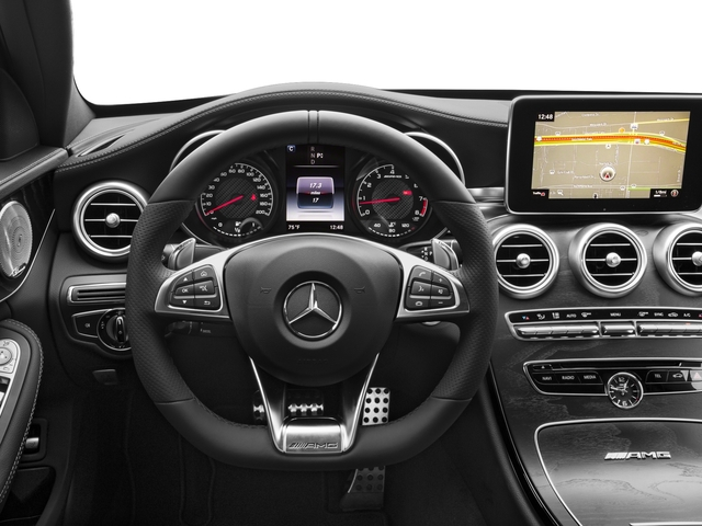 2018 Mercedes-Benz C-Class Base Price AMG C 63 Sedan Pricing driver's dashboard