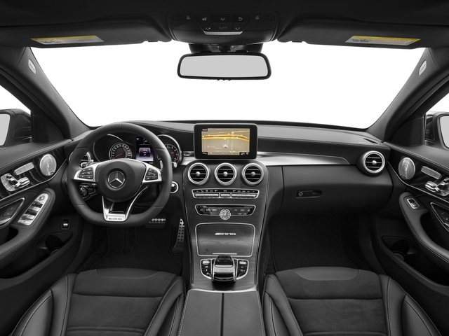 2018 Mercedes-Benz C-Class Base Price AMG C 63 Sedan Pricing full dashboard