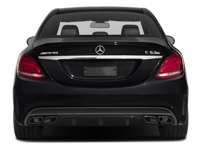 2018 Mercedes-Benz C-Class Pictures C-Class AMG C 63 S Sedan photos rear view