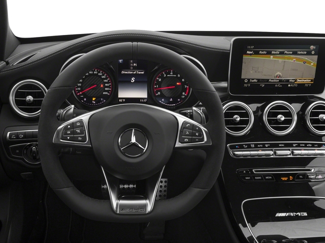2018 Mercedes-Benz C-Class Pictures C-Class AMG C 63 S Sedan photos driver's dashboard