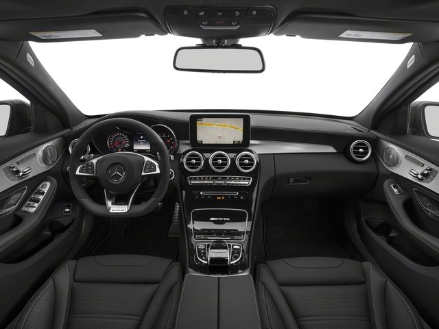 2018 Mercedes-Benz C-Class Pictures C-Class AMG C 63 S Sedan photos full dashboard