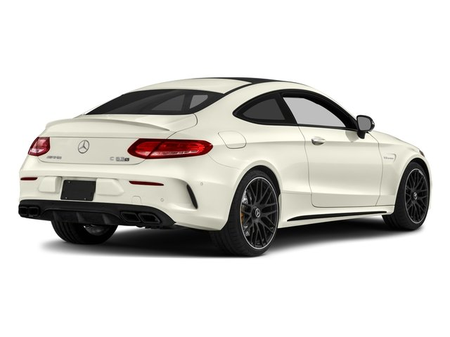 2018 Mercedes-Benz C-Class Prices and Values Coupe 2D C63 AMG S V8 Turbo side rear view