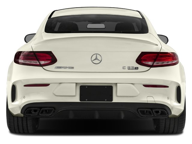 2018 Mercedes-Benz C-Class Prices and Values Coupe 2D C63 AMG S V8 Turbo rear view