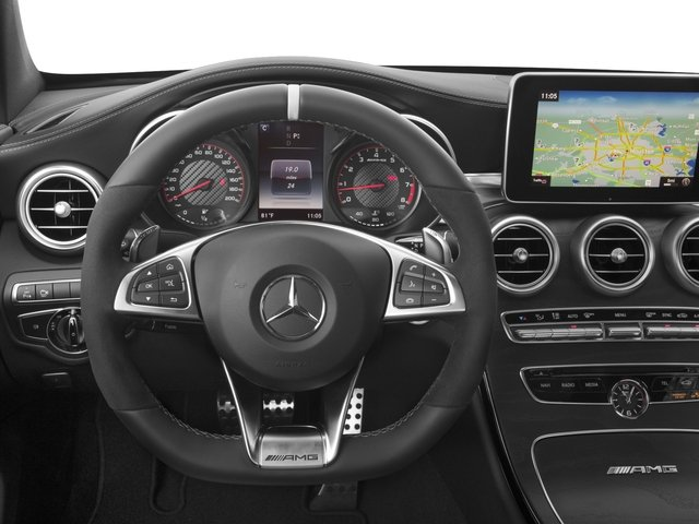 2018 Mercedes-Benz C-Class Prices and Values Coupe 2D C63 AMG S V8 Turbo driver's dashboard