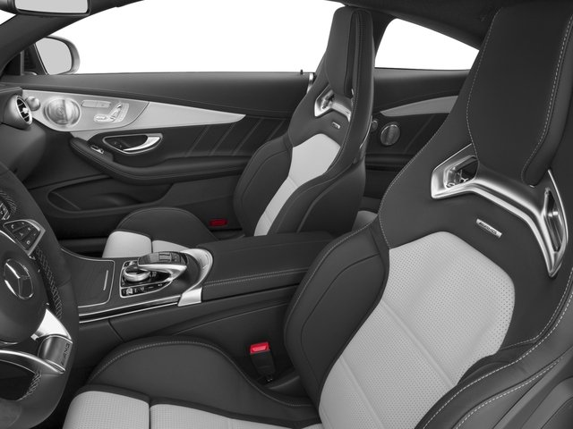 2018 Mercedes-Benz C-Class Prices and Values Coupe 2D C63 AMG S V8 Turbo front seat interior