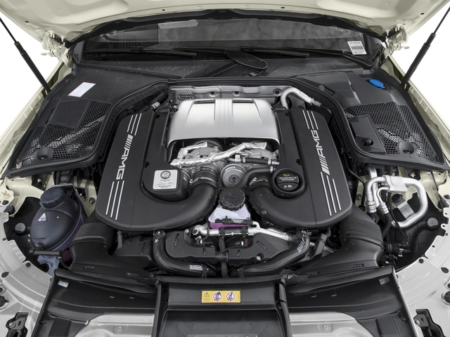 2018 Mercedes-Benz C-Class Prices and Values Coupe 2D C63 AMG S V8 Turbo engine
