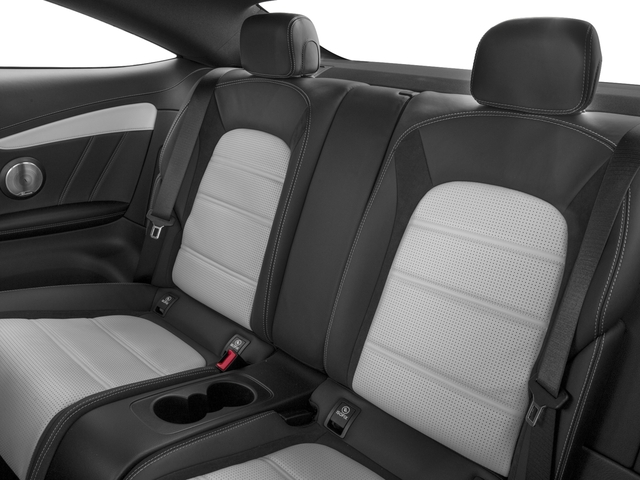 2018 Mercedes-Benz C-Class Prices and Values Coupe 2D C63 AMG S V8 Turbo backseat interior