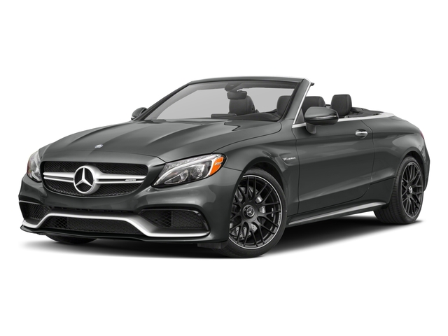 2018 Mercedes-Benz C-Class Base Price AMG C 63 Cabriolet Pricing side front view