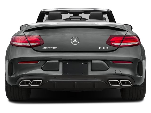 2018 Mercedes-Benz C-Class Base Price AMG C 63 Cabriolet Pricing rear view