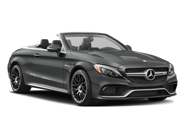 2018 Mercedes-Benz C-Class Prices and Values Convertible 2D C63 AMG V6 Turbo side front view
