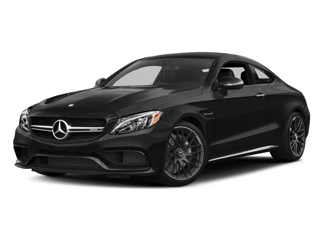 2018 Mercedes-Benz C-Class Base Price AMG C 63 Coupe Pricing side front view