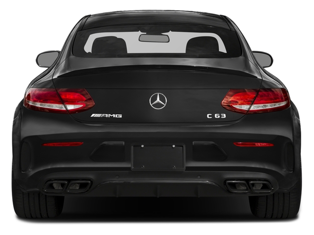 2018 Mercedes-Benz C-Class Prices and Values Coupe 2D C63 AMG V8 Turbo rear view