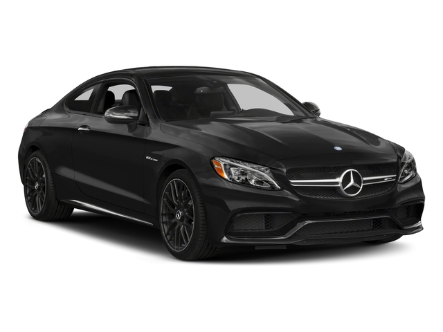 2018 Mercedes-Benz C-Class Prices and Values Coupe 2D C63 AMG V8 Turbo side front view