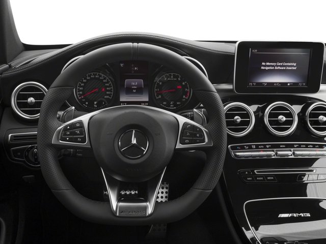 2018 Mercedes-Benz C-Class Prices and Values Coupe 2D C63 AMG V8 Turbo driver's dashboard