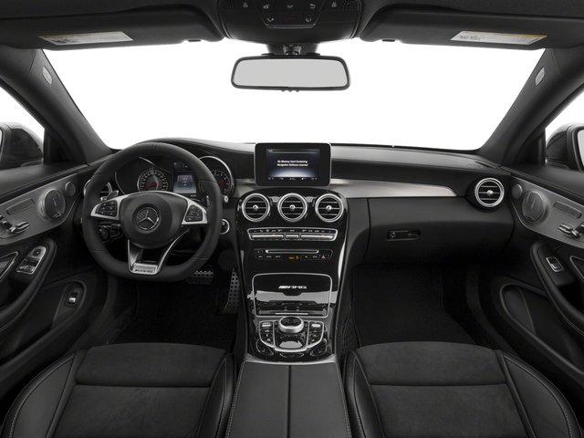 2018 Mercedes-Benz C-Class Prices and Values Coupe 2D C63 AMG V8 Turbo full dashboard