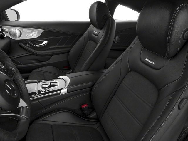 2018 Mercedes-Benz C-Class Prices and Values Coupe 2D C63 AMG V8 Turbo front seat interior