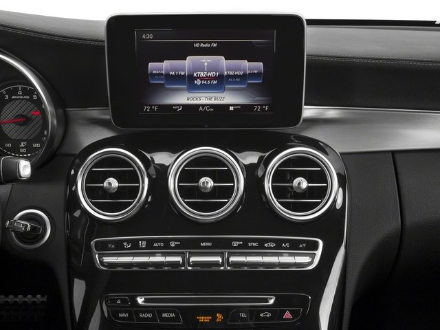 2018 Mercedes-Benz C-Class Prices and Values Coupe 2D C63 AMG V8 Turbo stereo system