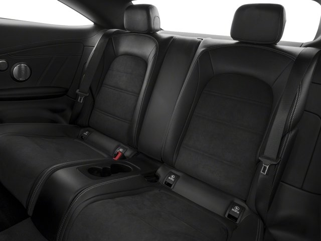 2018 Mercedes-Benz C-Class Prices and Values Coupe 2D C63 AMG V8 Turbo backseat interior