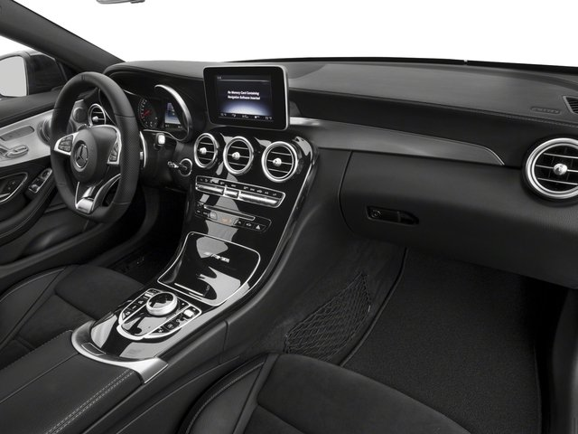 2018 Mercedes-Benz C-Class Prices and Values Coupe 2D C63 AMG V8 Turbo passenger's dashboard