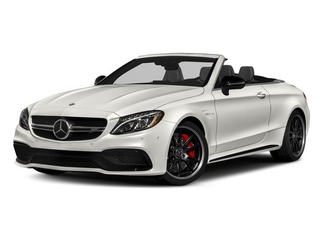 2018 Mercedes-Benz C-Class Base Price AMG C 63 S Cabriolet Pricing side front view