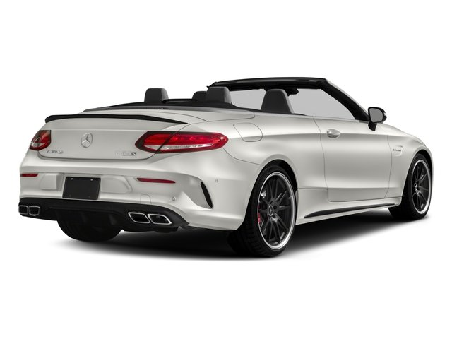 2018 Mercedes-Benz C-Class Pictures C-Class AMG C 63 S Cabriolet photos side rear view