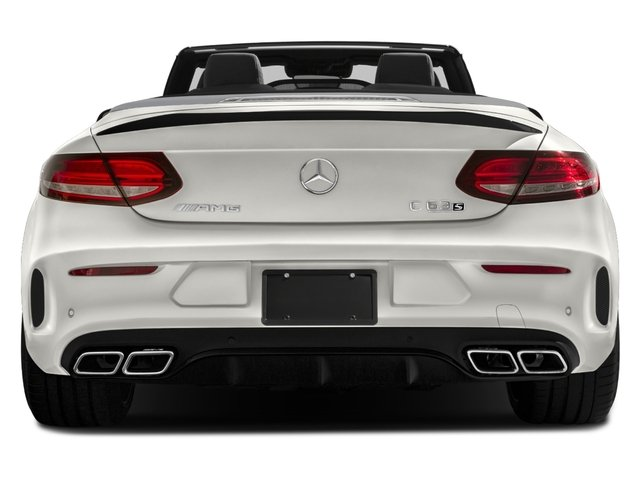 2018 Mercedes-Benz C-Class Prices and Values Convertible 2D C63 AMG S V6 Turbo rear view