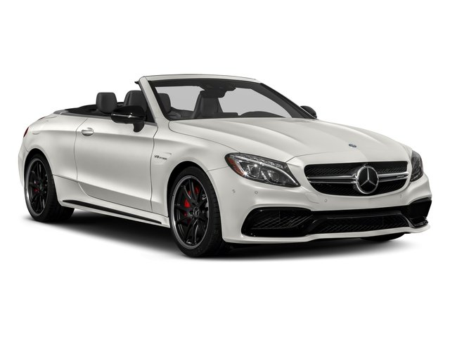 2018 Mercedes-Benz C-Class Prices and Values Convertible 2D C63 AMG S V6 Turbo side front view